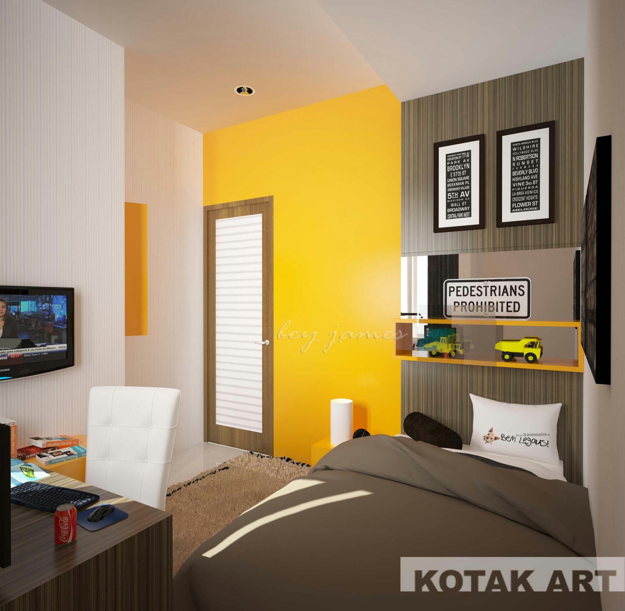 Kamar Tidur Remaja Kotak Interior And Furniture